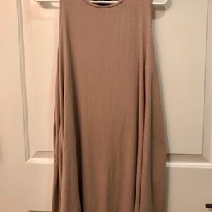 Forever21 Nude Shift Dress